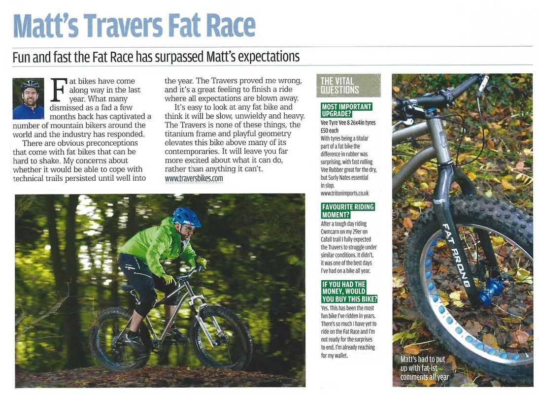 Travers Fat Race review